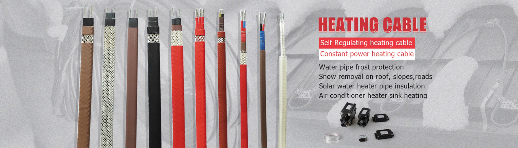 pipe heating cable